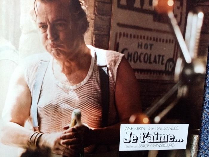 1976  Carte de Lobby  Serge Gainsbourg