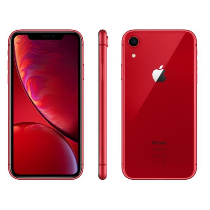 APPLE IPHONE XR (PRODUCT)RED 64 GO NEUF Teleohon & Navigation