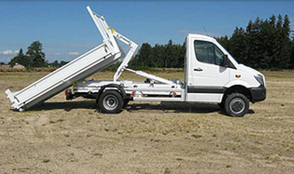 CAMION BENNE  Immobilier