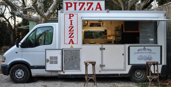 Camion Pizza Renault Master 2.8 TDI 2000 Véhicules
