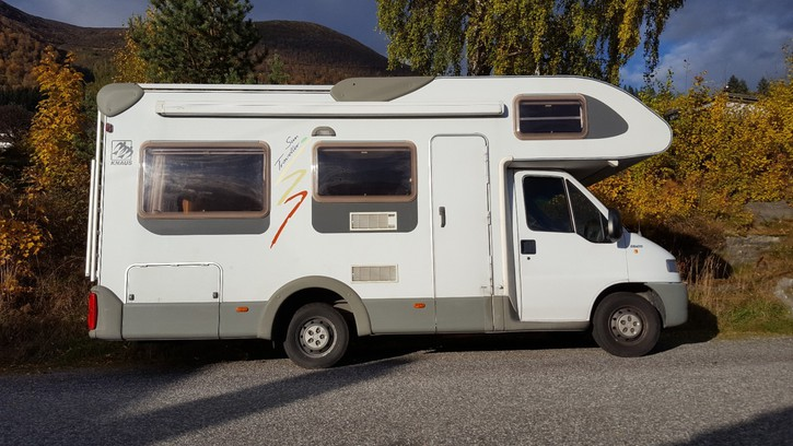 DON Camping Car Fiat Ducato 2002 Véhicules