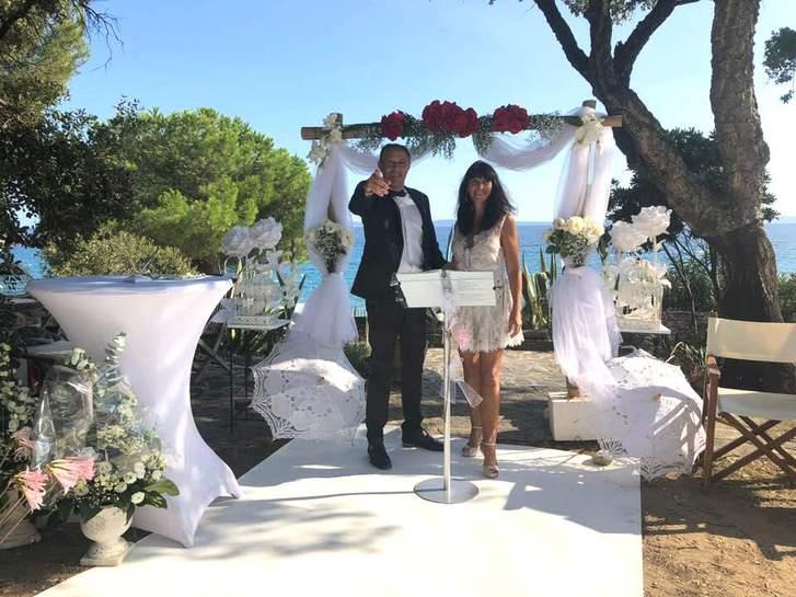 Location arche cérémonie laïque mariage Var Vêtements & Accessoires