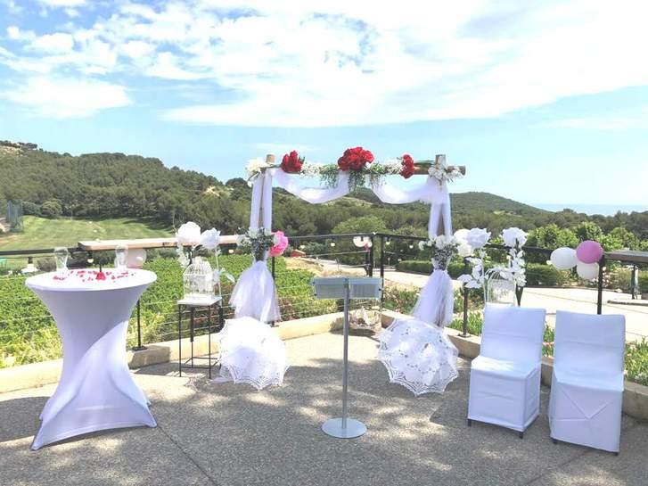 Location arche cérémonie laïque mariage Var Vêtements & Accessoires 2