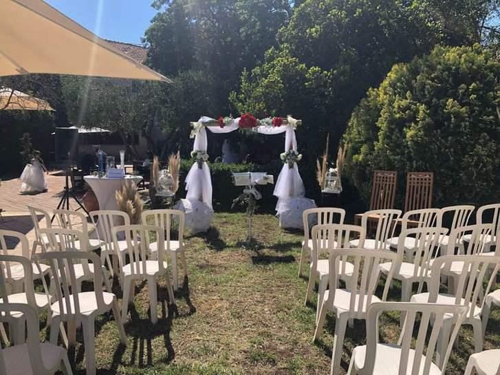 Location arche cérémonie laïque mariage Var Vêtements & Accessoires 4