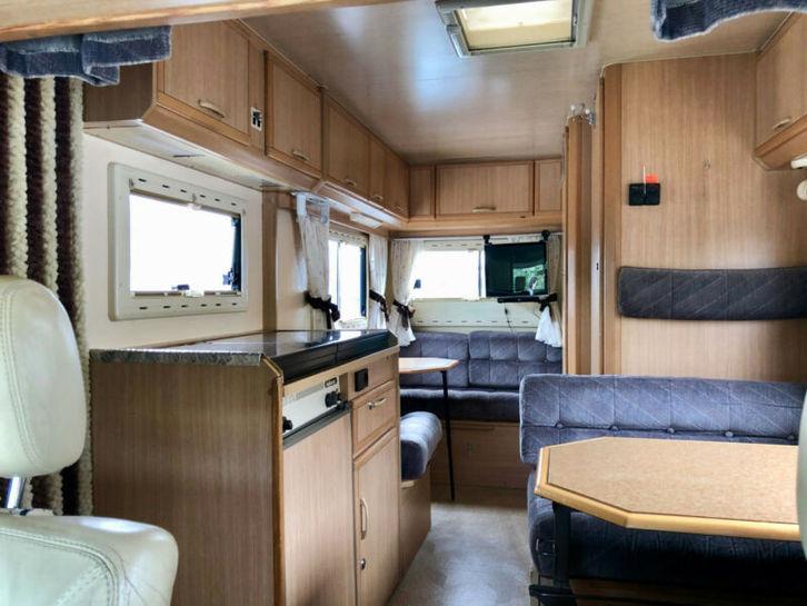Occasion Camping-car Adria Adriatik Peugeot 2,4d Véhicules 2