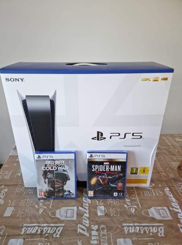 PlayStation 5 avec le lecteur DVD Autres 4