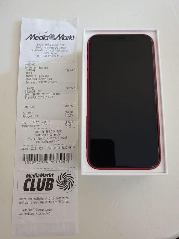 iphone 11 rouge  Teleohon & Navigation