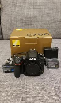 Nikon D750 Full-Frame DSLR Camera with AFS 24-120mm VR Lens Kit